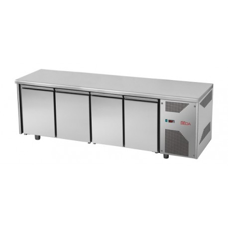 Meuble réfrigéré 4 portes profondeur 700 GN 1/1, équipement froid, Espace Hotelier Beziers