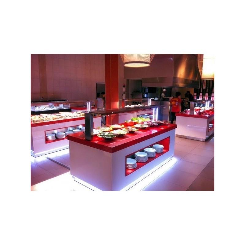 buffet chaud rouge et blanc espace h telier b ziers herault aude 34 11 66 30. Black Bedroom Furniture Sets. Home Design Ideas