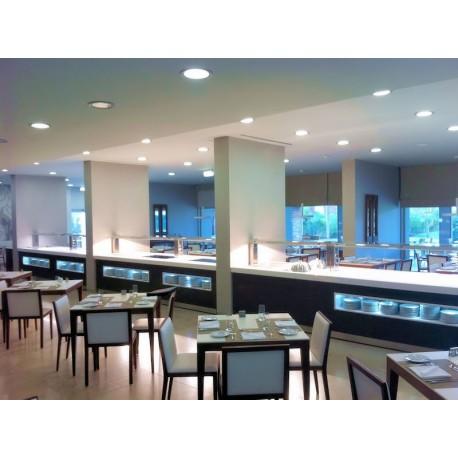 Exemple de réalisation de buffet, Buffet chaud, réfrigéré, neutre, mixte, buffet de restauration, Espace Hotelier Beziers