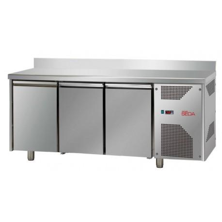 Meuble réfrigéré adossé 3 portes profondeur 700 GN 1/1, équipement froid, Espace Hotelier Beziers
