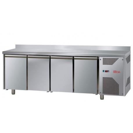Meuble réfrigéré adossé 4 portes profondeur 700 GN 1/1, équipement froid, Espace Hotelier Beziers