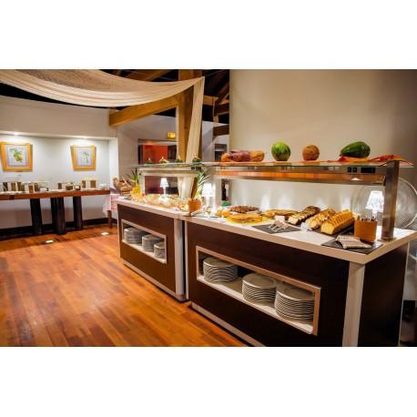 Buffet restauration réfrigéré et chaud - Réalisation sur mesure Espace Hotelier Béziers