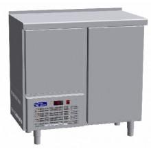 Arrière comptoir réfrigéré 1 porte + 1 portillon