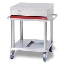 Table mobile de préparation longueur 900 - Espace Hotelier Beziers