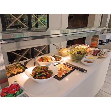 Buffet petit déjeuner, Buffet chaud, réfrigéré, neutre, mixte, buffet de restauration, Espace Hotelier Beziers